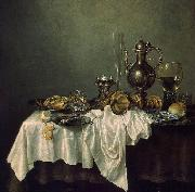 Willem Claesz. Heda Breakfast of Crab oil on canvas